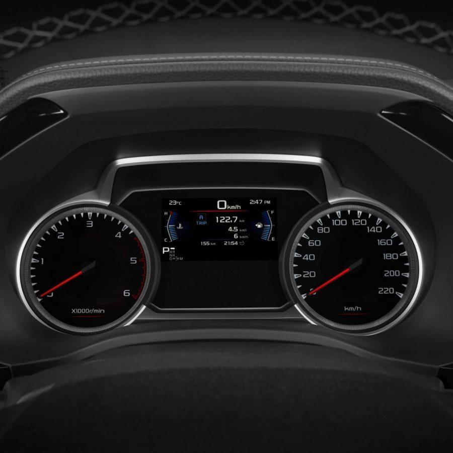 Sleek dashboard display