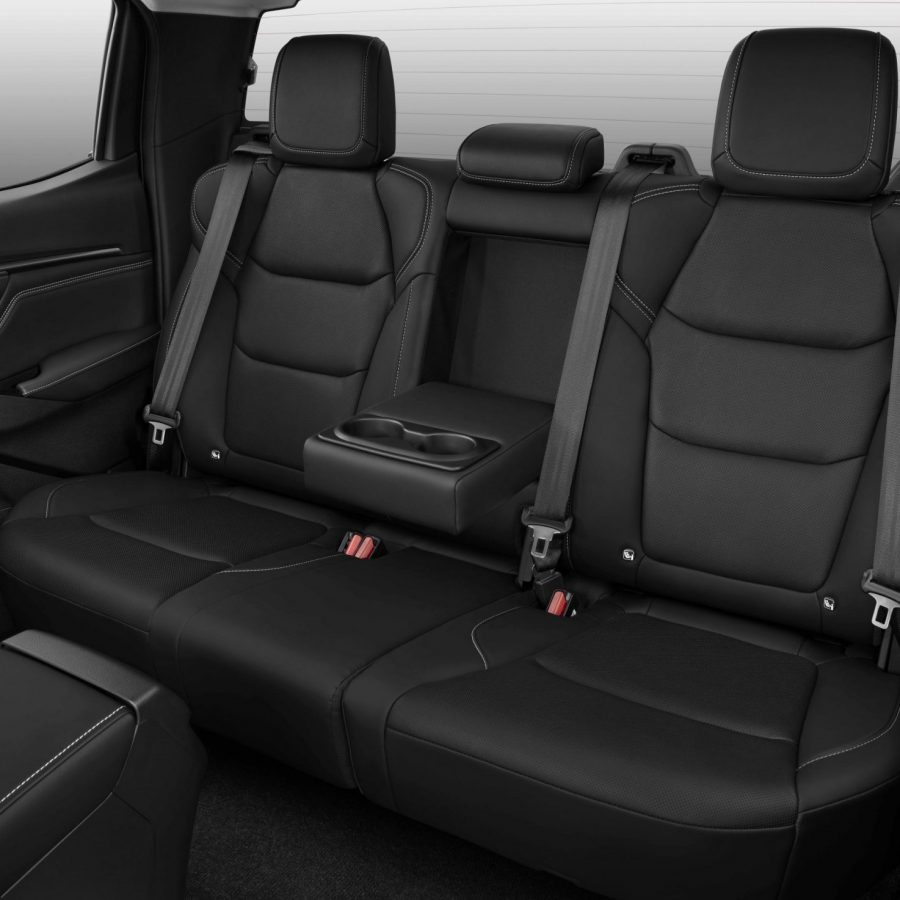 Rear leather seat options